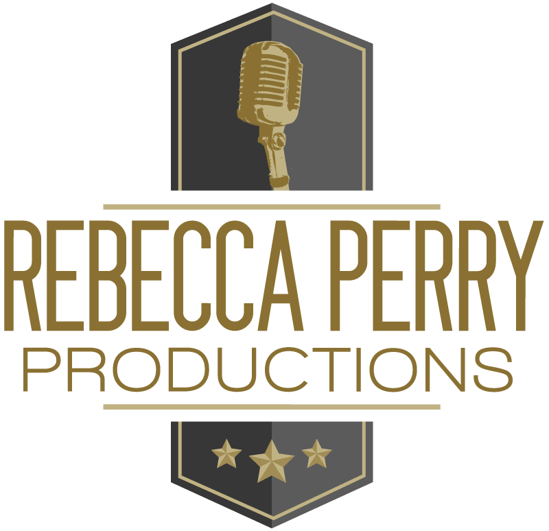 Logo for Rebecca Perry Productions